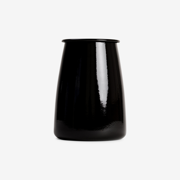 Black Enamel Utensil Holder - Enamelware - Hunter Studio - New Zealand Lifestyle Store
