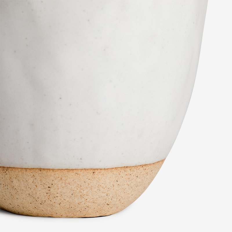 Japanese Stoneware Candle - Cream - Tableware - Hunter Studio - New Zealand Lifestyle Store
