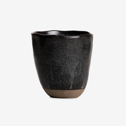 Japanese Stoneware Candle - Charcoal - Tableware - Hunter Studio - New Zealand Lifestyle Store