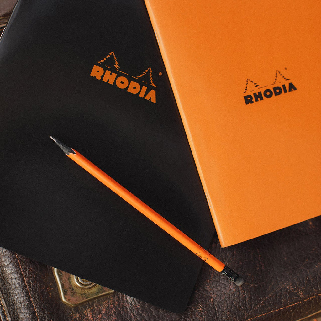 Rhodia Pencil – Orange - Stationary - Hunter Studio - New Zealand Lifestyle Store