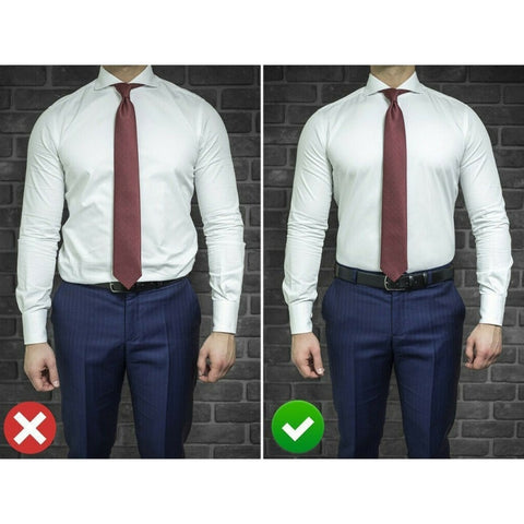 Image of Adjustable Shirt-Stay Belt
