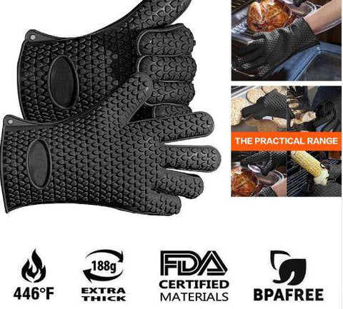 GrillSafe™ - Heat Resistant Grill Gloves