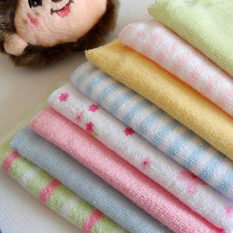 Image of 8Pcs Baby Towel Washcloth Set