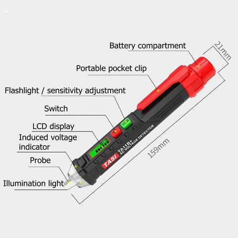 VoltHunter™ - Contactless Voltage Tester