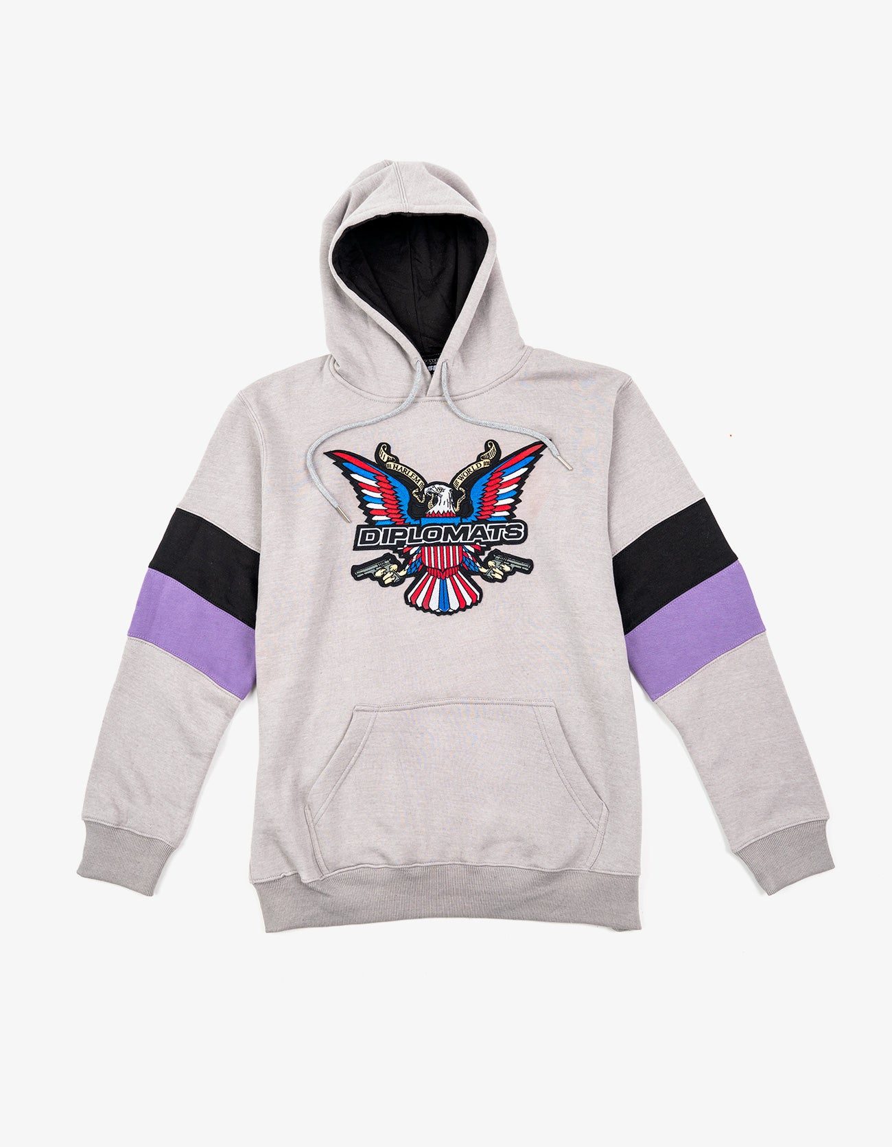 Dipset Couture Grey/Black/Purple  Sweatsuit