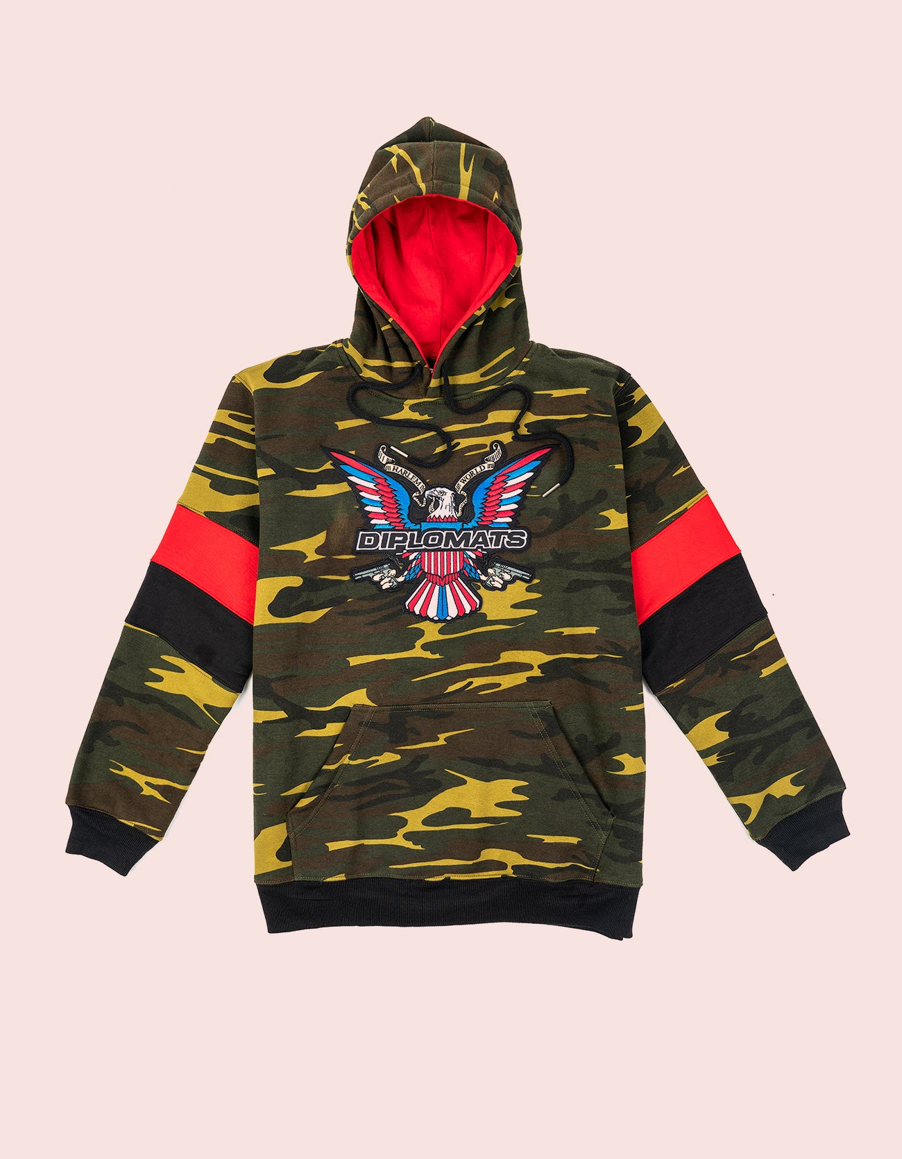 Dipset Couture Camo/Red/Blk  Sweatsuit
