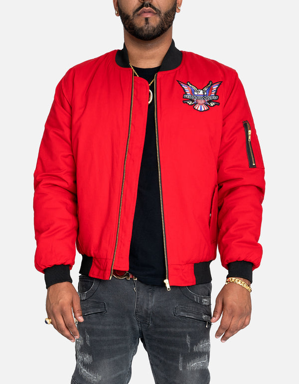 DIPSET Couture RED Bomber Jacket - DIPSET COUTURE