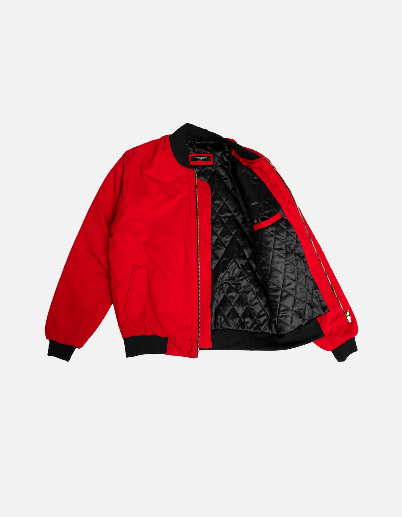 DIPSET Couture RED Bomber Jacket