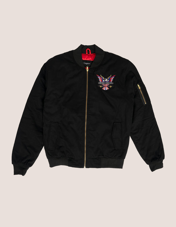 DIPSET Couture Black Bomber Jacket - DIPSET COUTURE