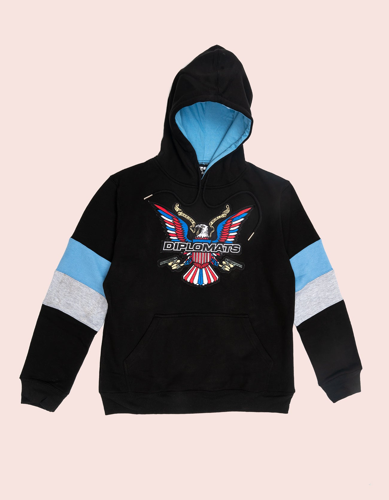 Dipset Couture Black/Baby Blue/Grey  Sweatsuit