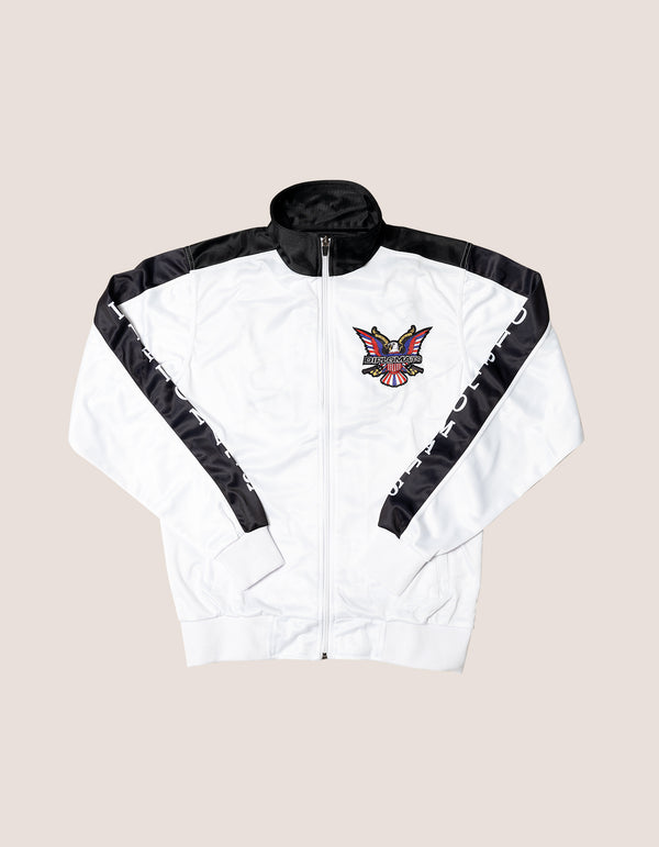 DIPSET Couture White/Black Classic Track Suit - DIPSET COUTURE