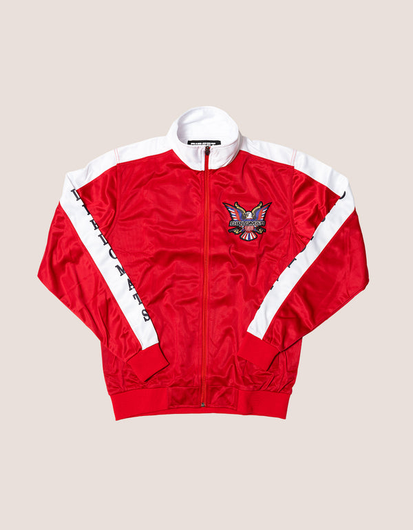 DIPSET Couture Red/White Classic Track Suit - DIPSET COUTURE