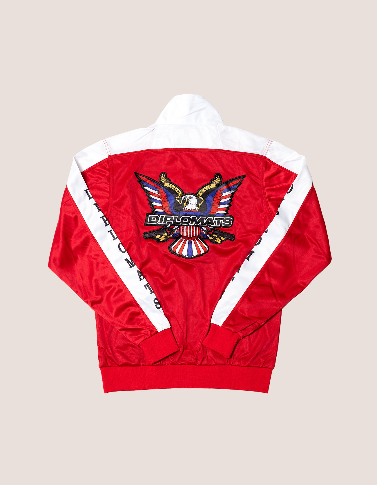 DIPSET Couture Red/White Classic Track Suit