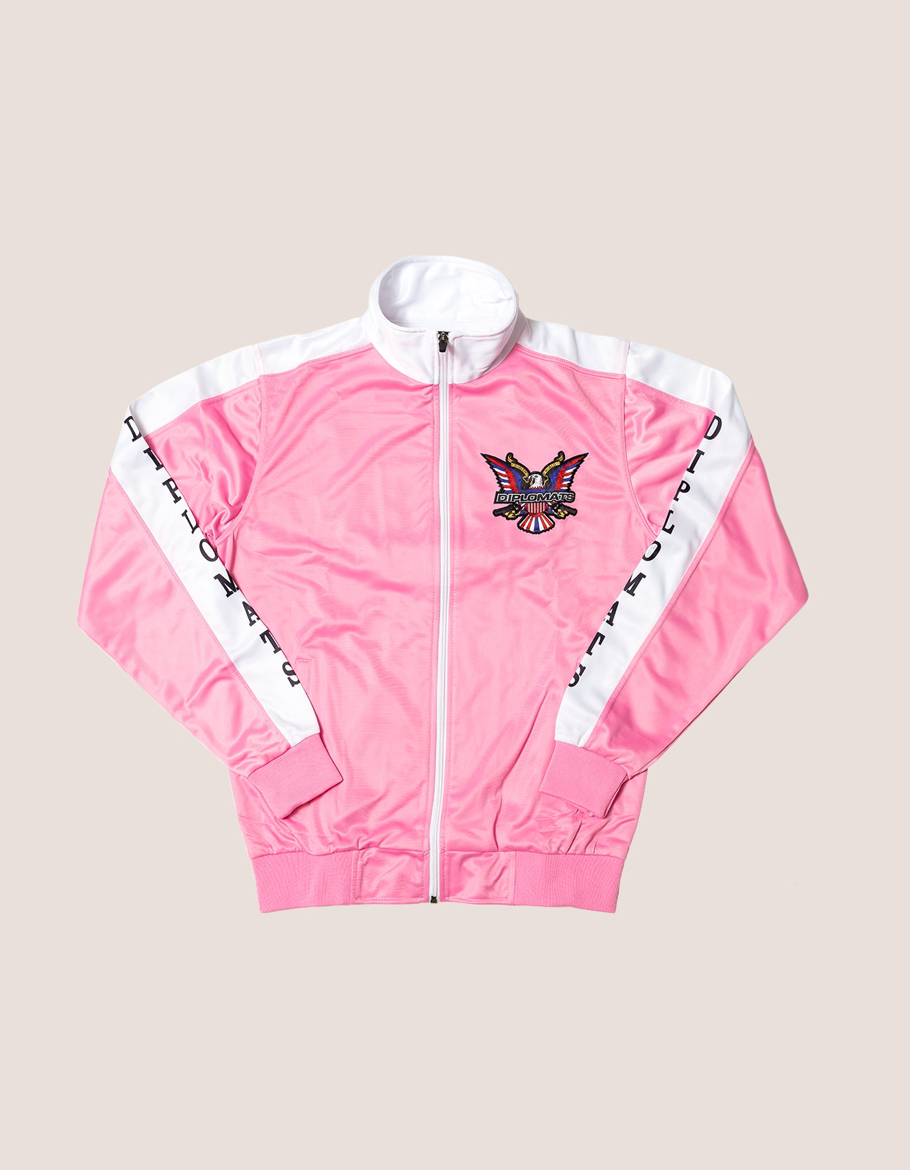 DIPSET Couture Pink/White Classic Track Suit