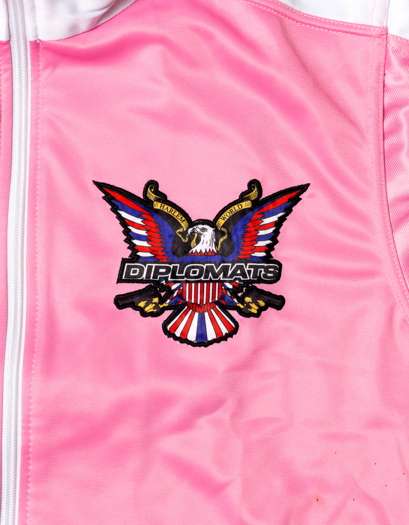 DIPSET Couture Pink/White Classic Track Suit - DIPSET COUTURE