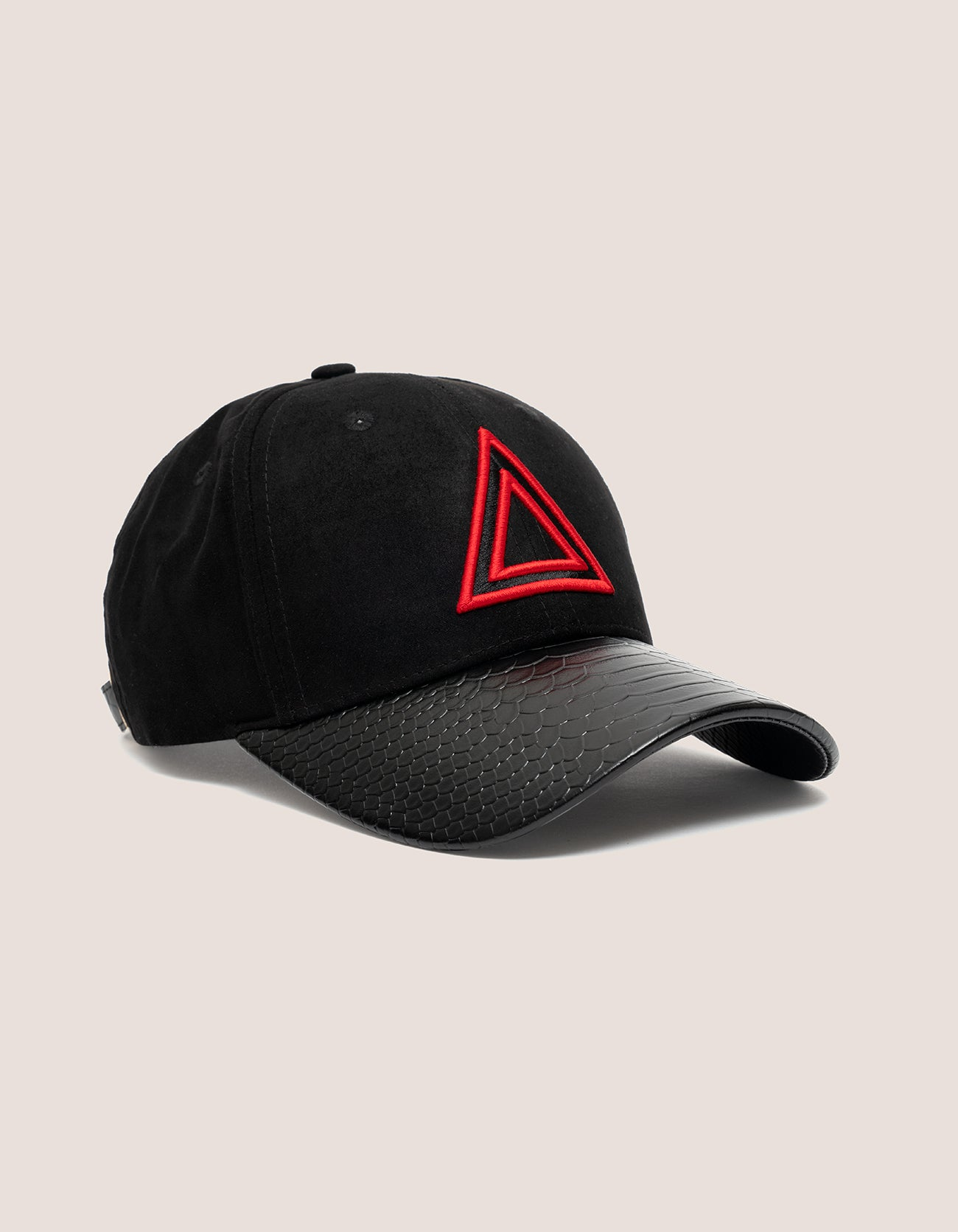 TRI x KILLA  Suede BLACK Baseball hat