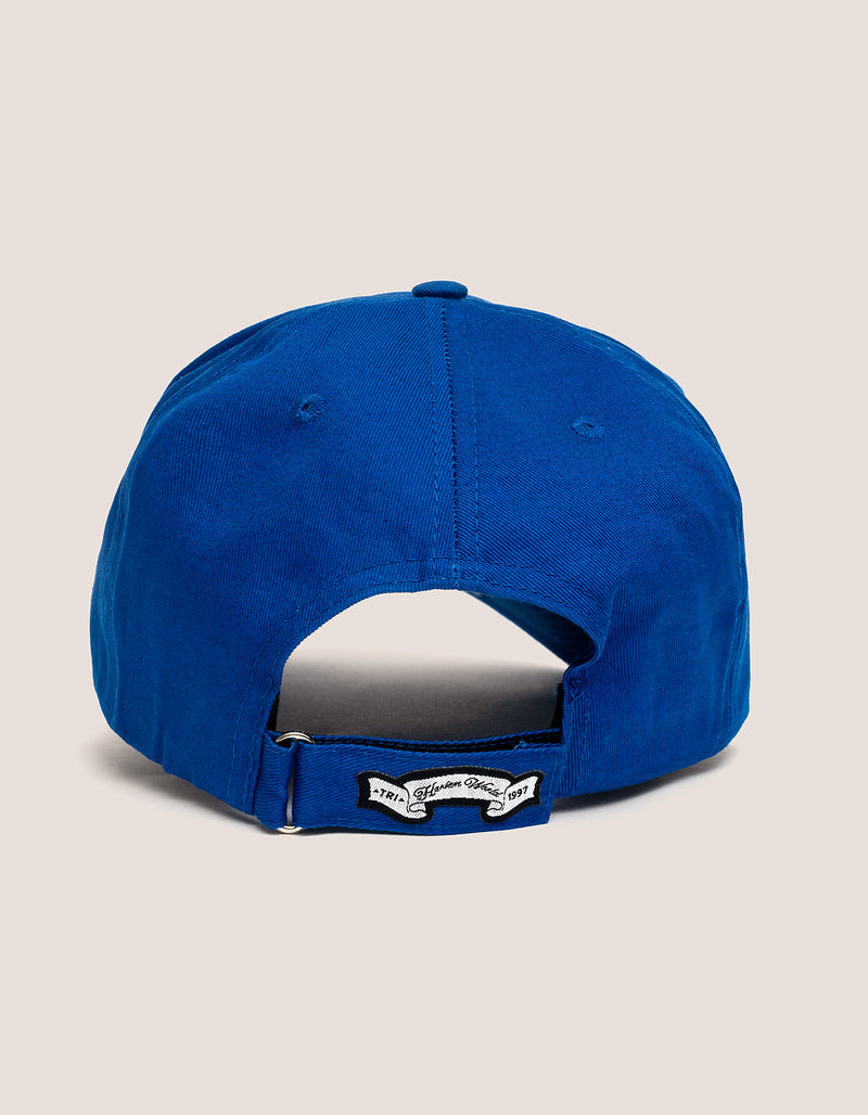 DIPSET COUTURE COTTON ROCKSTAR HAT BLUE - DIPSET COUTURE