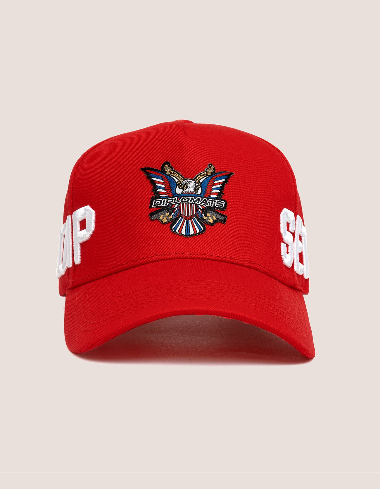 DIPSET COUTURE COTTON ROCKSTAR HAT RED