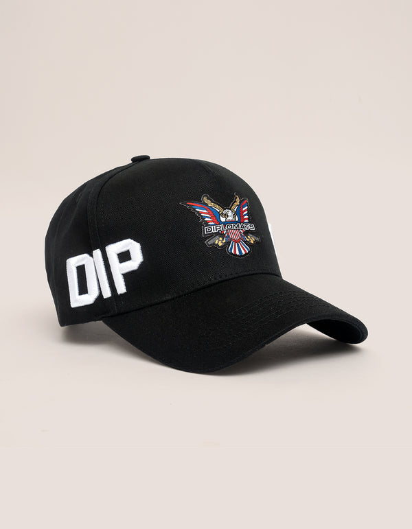DIPSET COUTURE COTTON ROCKSTAR HAT BLACK - DIPSET COUTURE