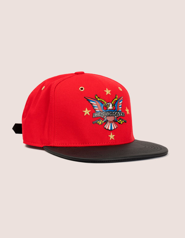 RED STAR OG HAT - DIPSET COUTURE