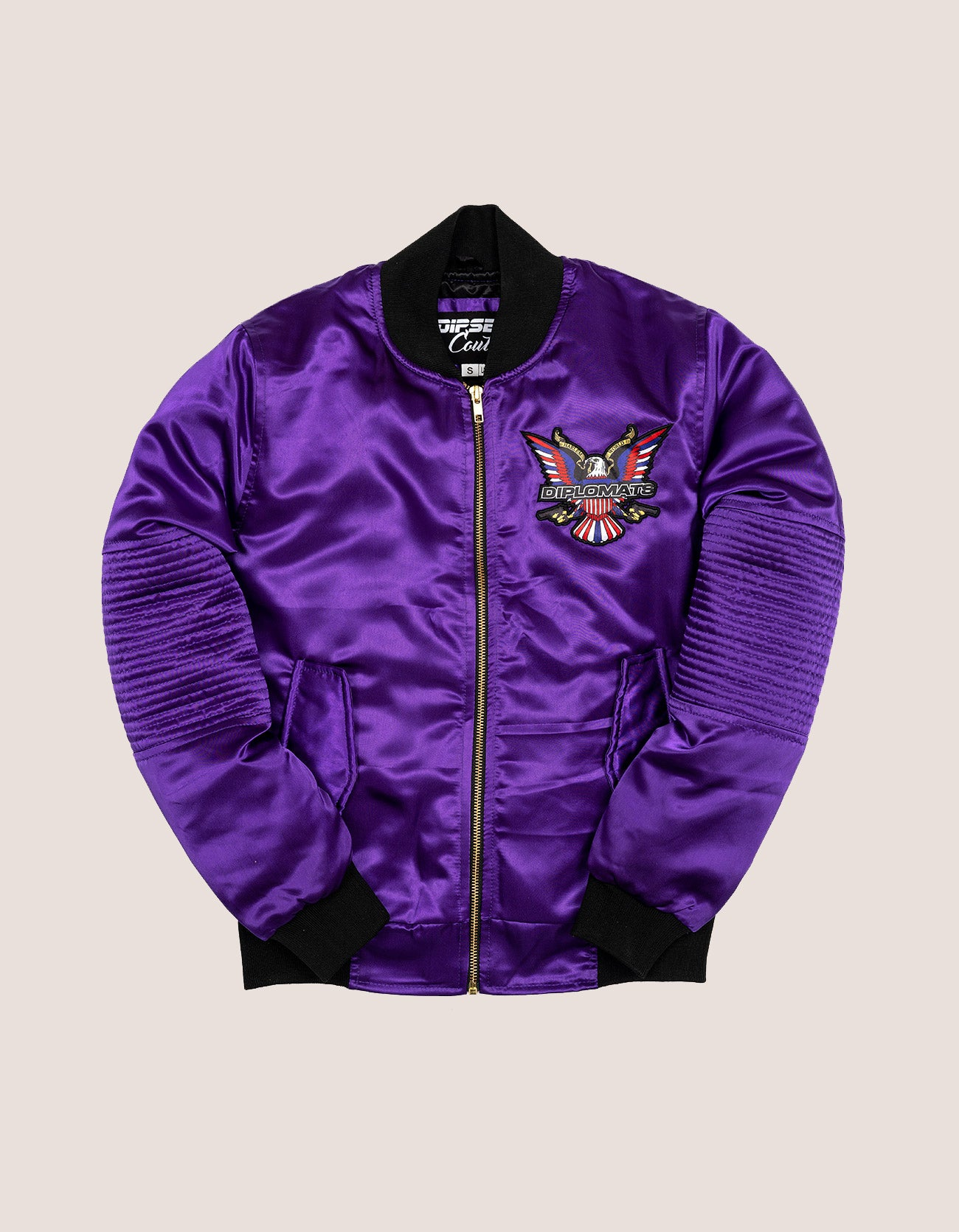 PURPLE HAZE SATIN WOMEN JACKET