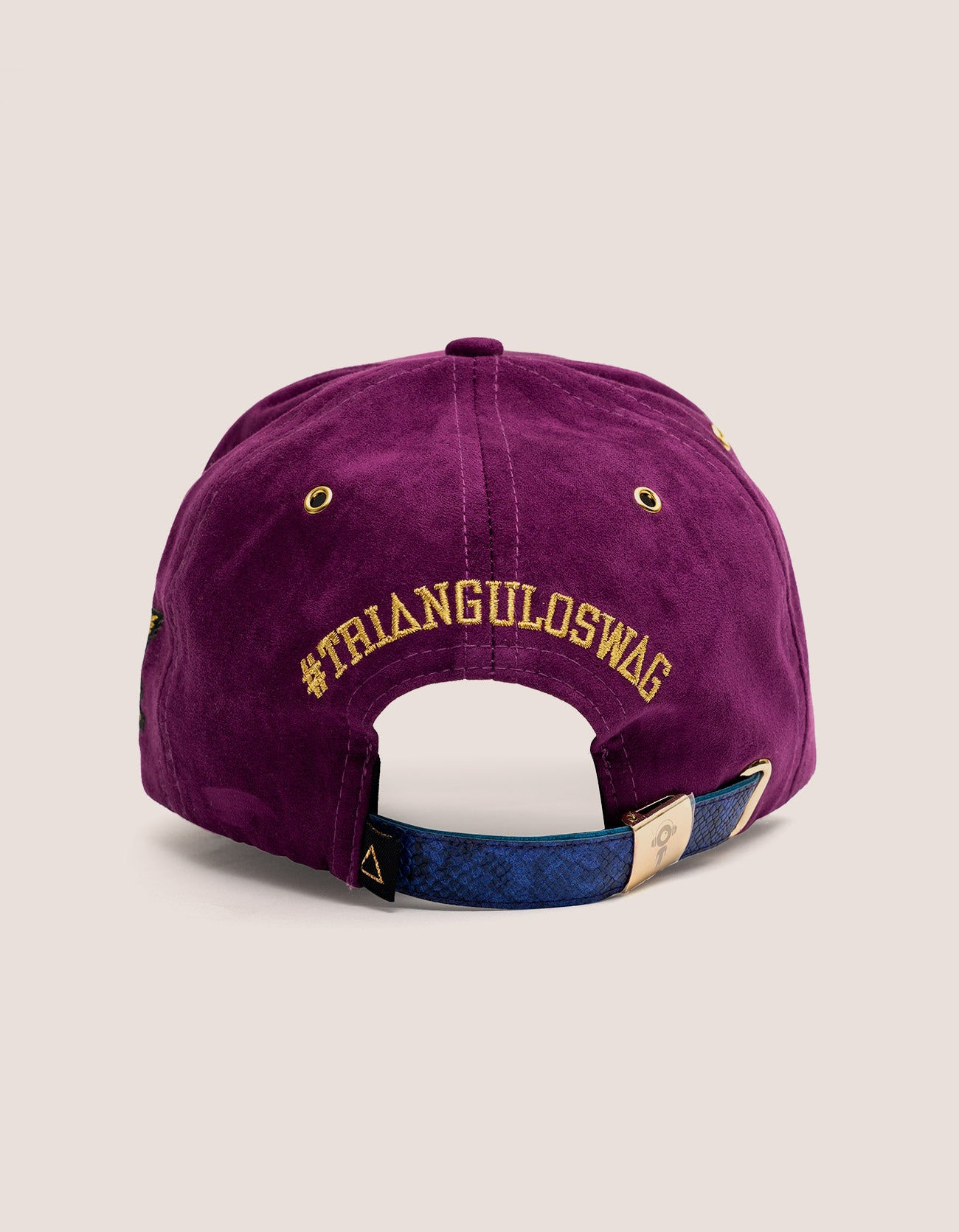 TRI X KILLA Suede PURPLE Baseball Hat