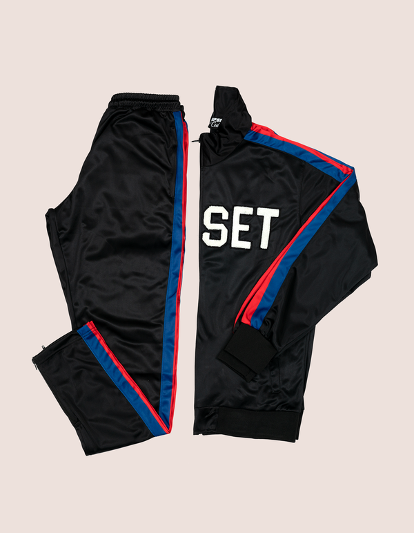 BLK DIPSET RED/BLUE 97 Tracksuit - DIPSET COUTURE