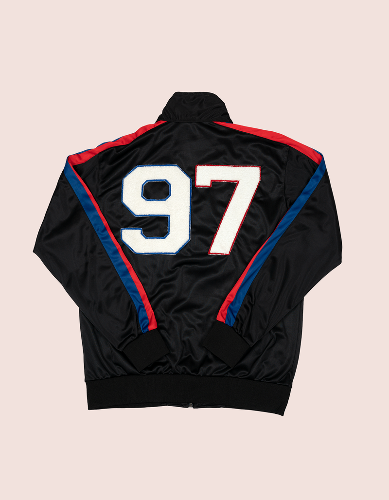 Women's BLK DIPSET RED/BLUE 97 Track JACKET - DIPSET COUTURE