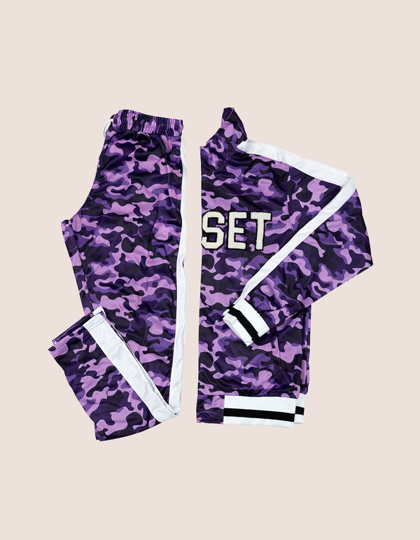 PURPLE CAMO TRACKSUIT - DIPSET COUTURE