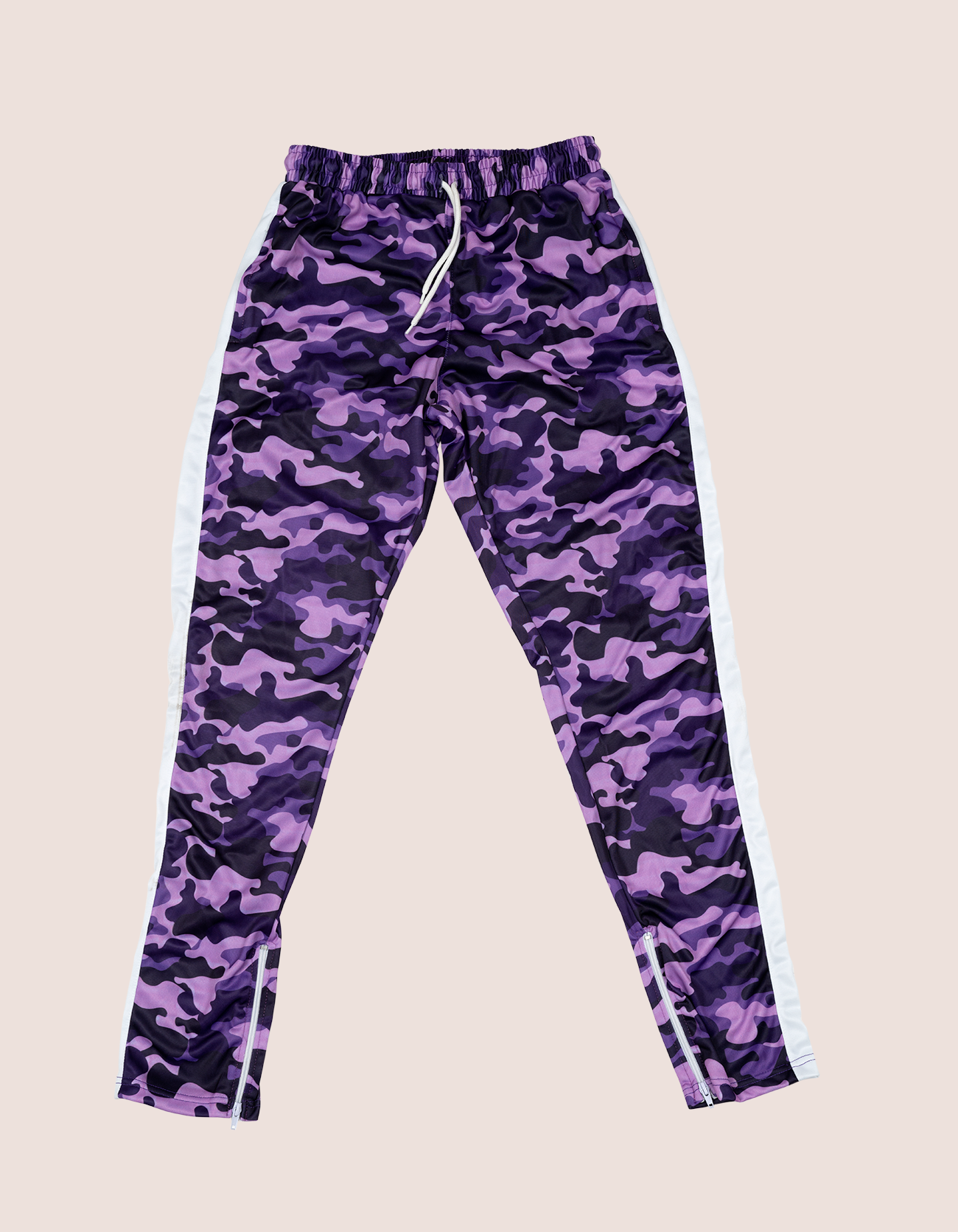 PURPLE CAMO TRACKSUIT