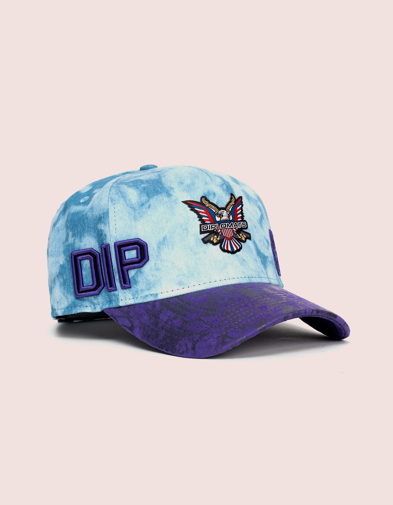 DIPSET COUTURE DENIM ROCKSTAR HAT PURPLE