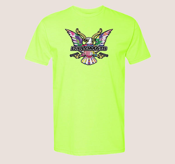 Neon Dipset Color Camo - DIPSET COUTURE
