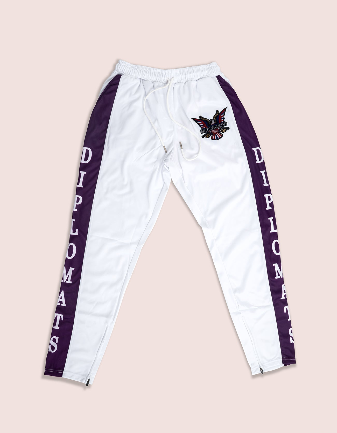 DIPSET Couture White/Purple Classic Track Suit