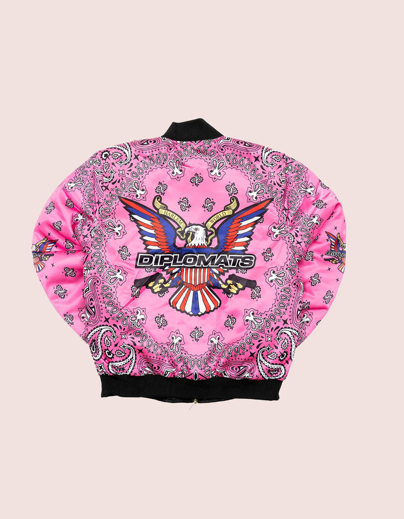 Limited Edition Pink Bandanna Jacket - DIPSET COUTURE