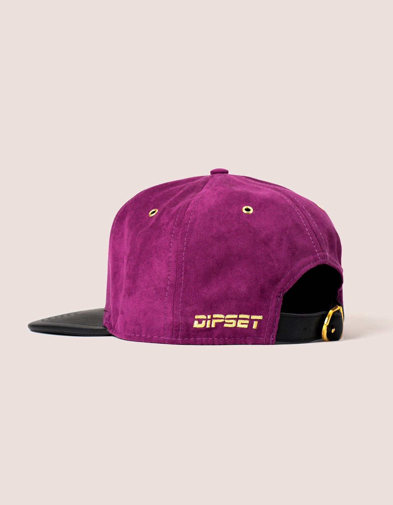 Purple Suede Star OG Hat