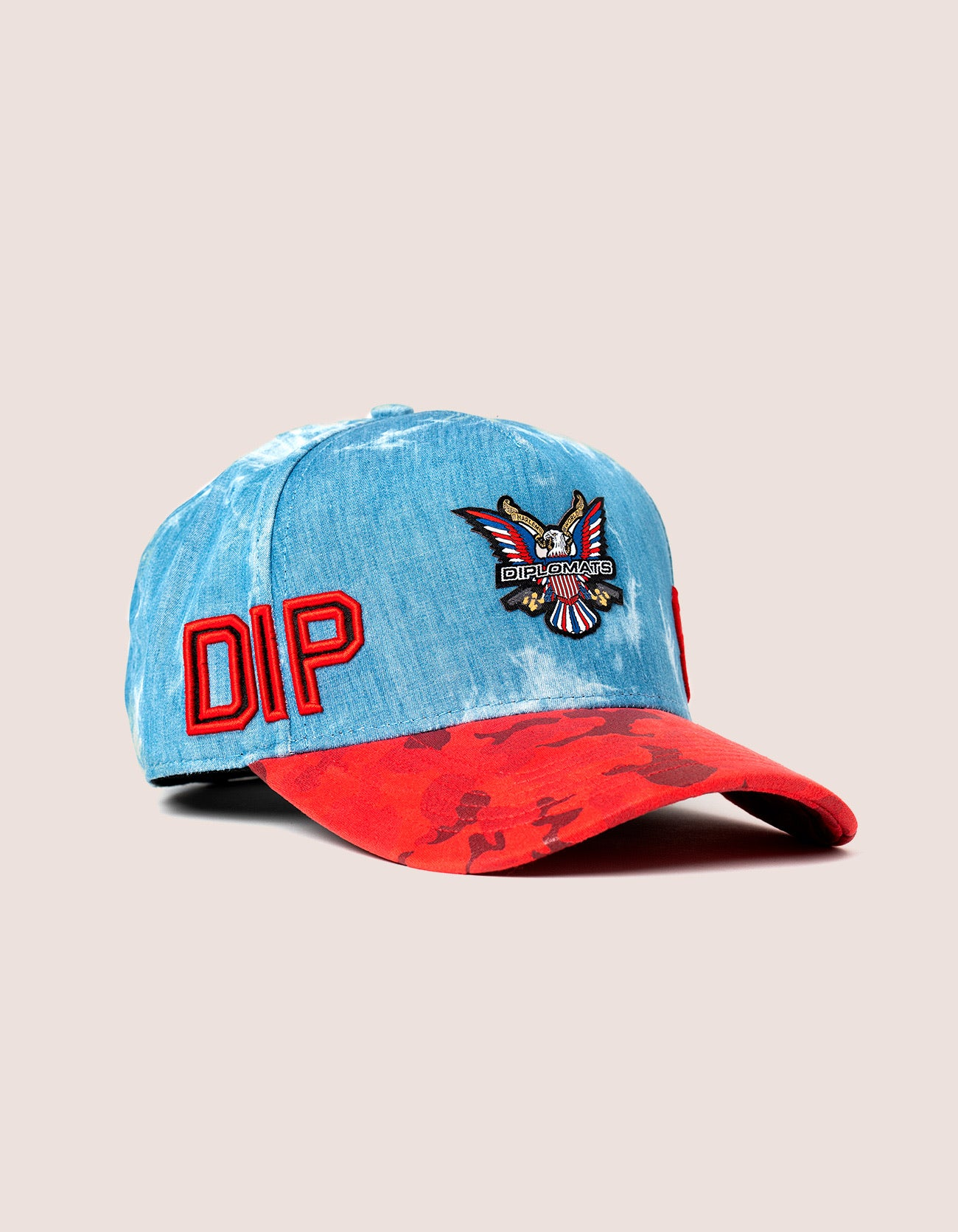 DIPSET COUTURE DENIM ROCKSTAR HAT