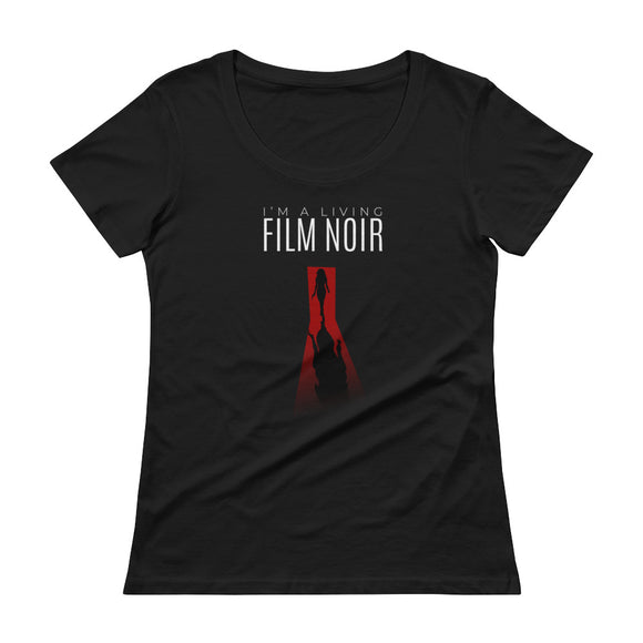Living Film Noir Women's Scoop Neck - Ryze