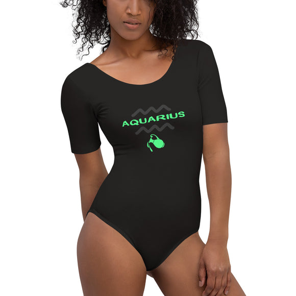 Aquarius Bodysuit (Zodiac With Style!) - Women - Ryze