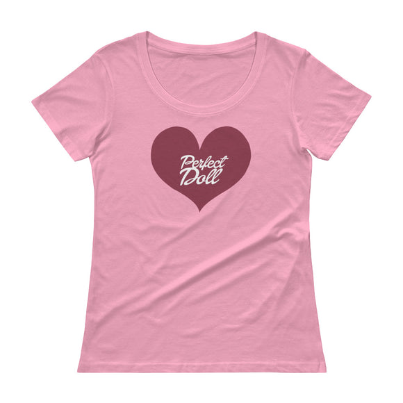 Perfect Doll Ladies Pink T-Shirt - Ryze