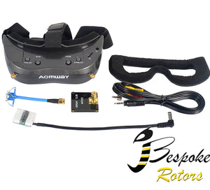 Aomway Commander V2 Diversity FPV Goggles 1080P 5.8G 64CH