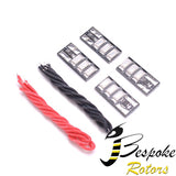 Drone led kit Set of 4 4-6s battery Green / Red   SUPER BRIGHT