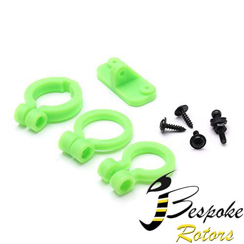 KINGKONG/LDARC Universal FPV Camera Lens Adjustable Holder for RC Drone FPV Racing - Green