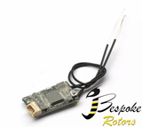 FX400R compatible FrSky D16 2.4G 16CH Mini Receiver Integrated Two-way Return Telemetry
