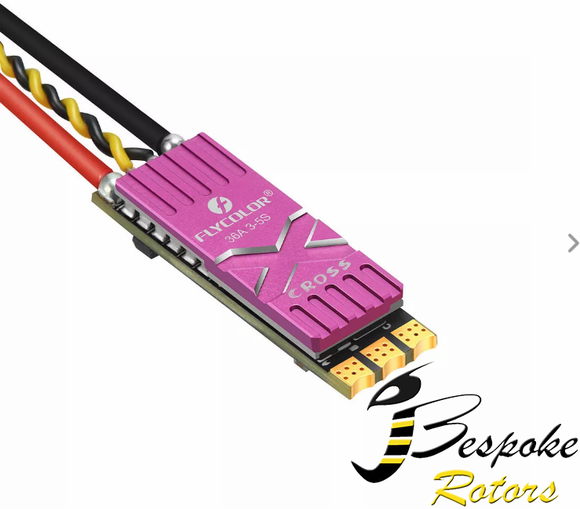 Flycolor X-Cross 36A BLheli_32 32Bit 3-5S Brushless ESC DShot1200 w/ Telemetry