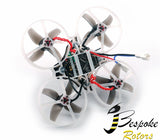 Happymodel Mobula7 75mm Crazybee F3 Pro OSD 2S Whoop FPV Racing Drone w/ Upgrade BB2 ESC 700TVL BNF - Basic Version