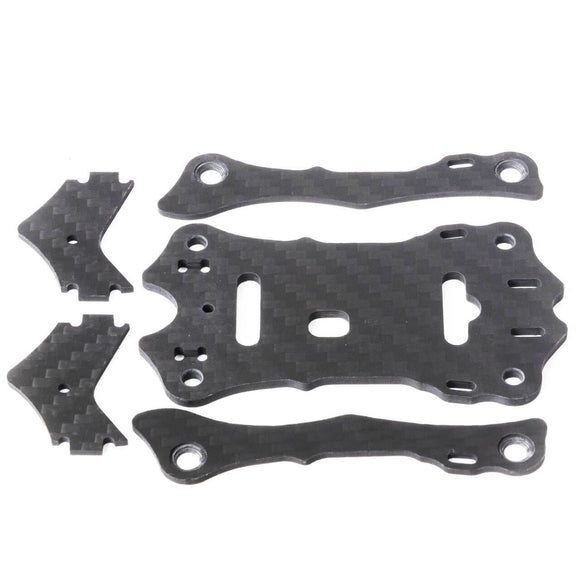 Hawk 5 Spare Parts A (Top Carbon Plate X1, Support Rail X2, Camera Plate X2)