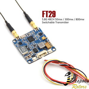 SJ-FT29 5.8G 48CH 50mw/300mw/800mw Adjustable Dual Power FPV Transmitter