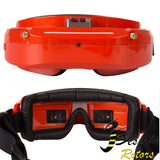 Skyzone SKY03O Oled /SKY03S 5.8GHz 48CH Diversity FPV Goggles Support OSD DVR HDMI With Head Tracker Fan LED