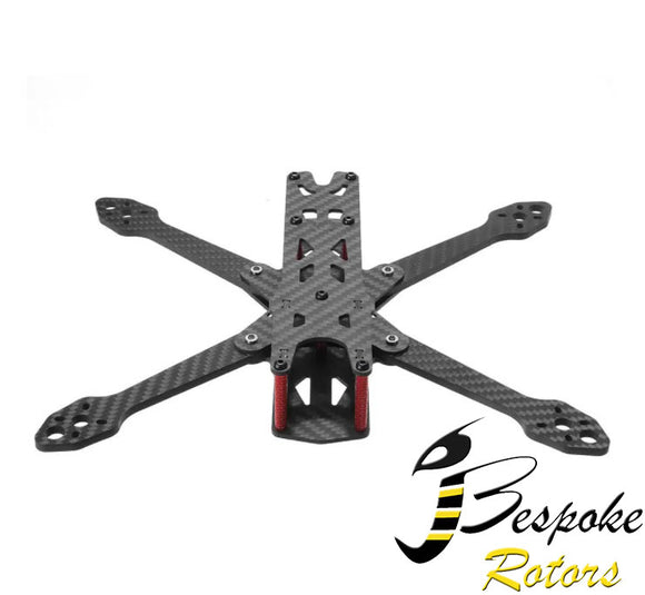 Martian IV 7 Inch 290mm Wheelbase 4mm Arm Carbon Fiber FPV Racing Frame Kit