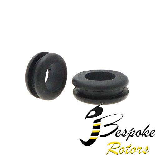 Open rubber Grommet for battery cable etc